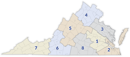 Virginia Education Regions